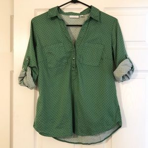 New York & Co. Medium. 3/4 sleeve blouse.